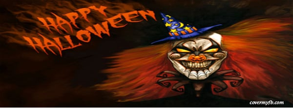 Evil Clown Facebook Cover