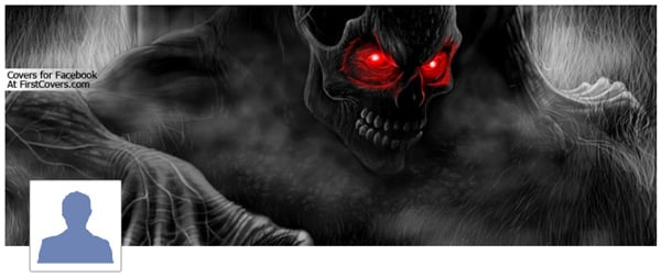Demon Facebook Profile Cover