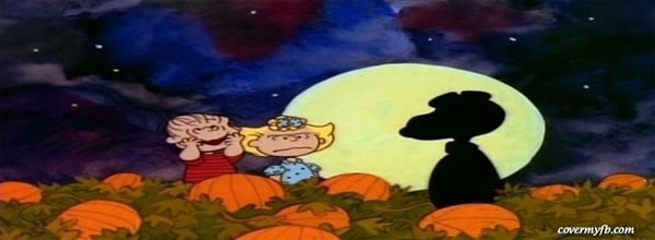 Charlie Brown – The Great Pumpkin Facebook Cover