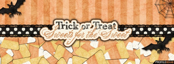Trick or Treat Sweets for the Street Facebook Cover
