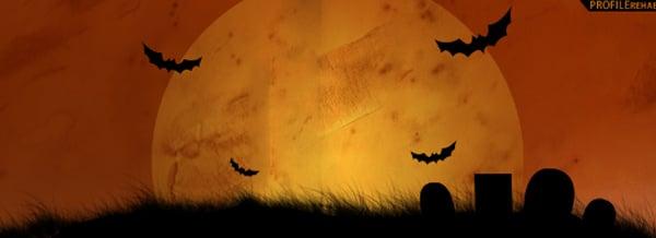 Halloween Cemetery Facebook Cover