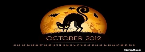Halloween October 2012 Facebooc Cover