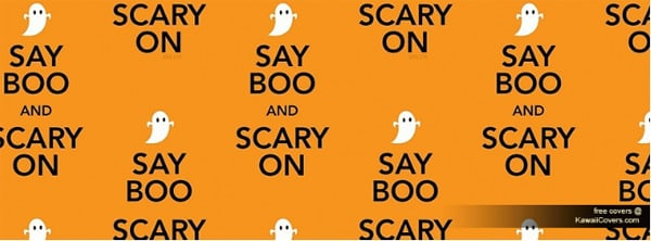 Say Boo and Scary on