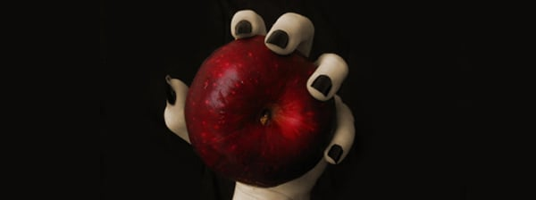 Evil Witch Snow White Apple Facebook Cover