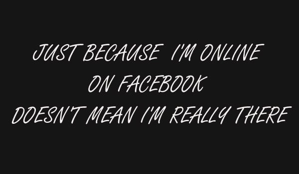 Social media websites can be rejected