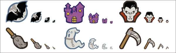 Halloween freebies: free Halloween icons set
