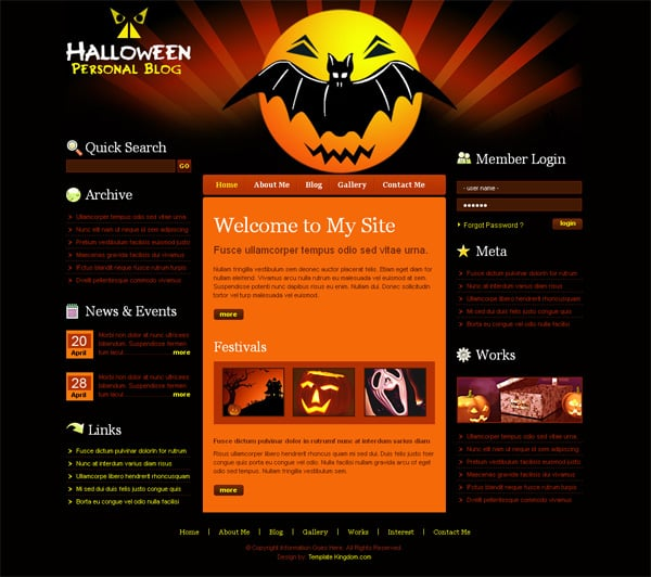 prepare your website for scare 48 halloween freebies