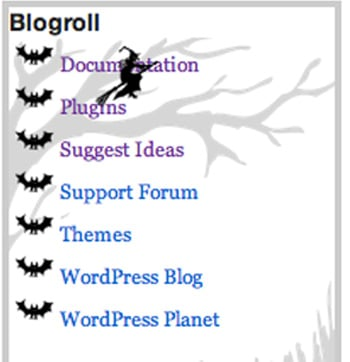 free Halloween WordPress plugin