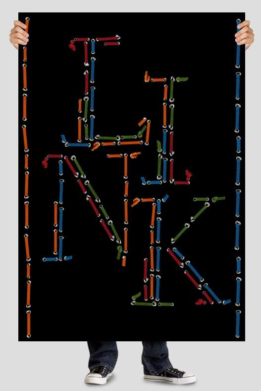 Handmade fonts: Lace font