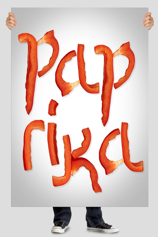 Paprika font