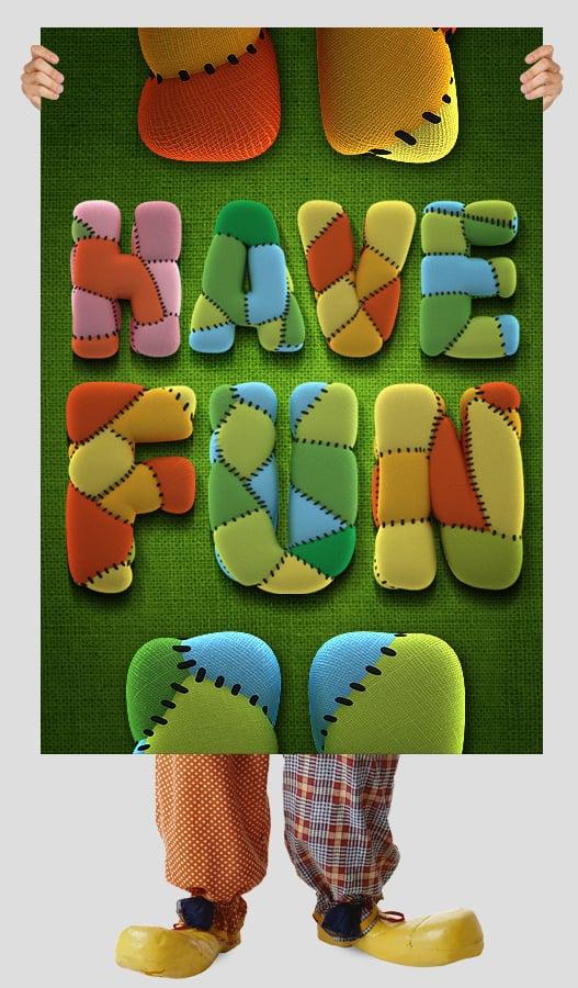HandMade Fonts: Toy font