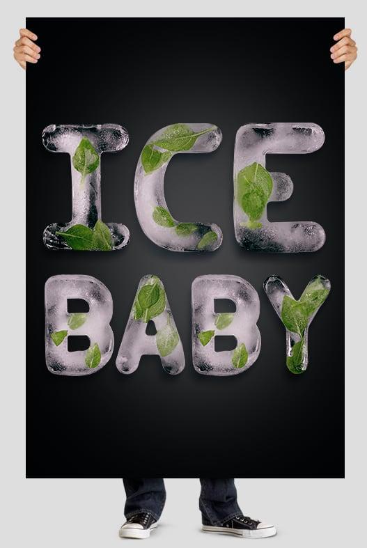 Black Ice Leaf font