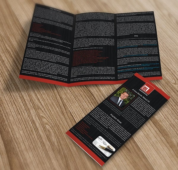 Davenport Law Brochure design