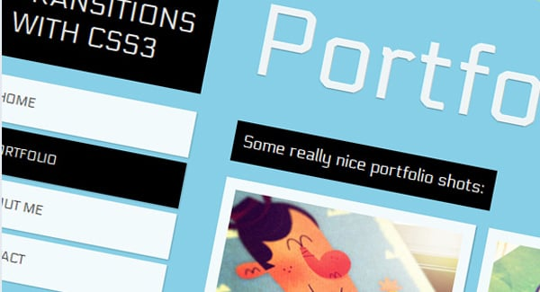 Page Transitions with CSS3