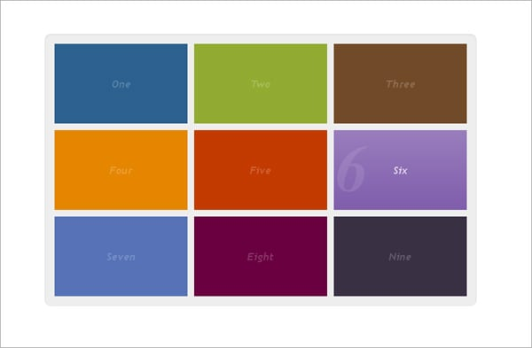 CSS3 Tutorials: Interactive Menu with CSS3 and jQuerry