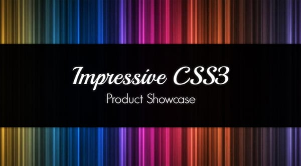 CSS3 Tutorials: Product Showcase with CSS3