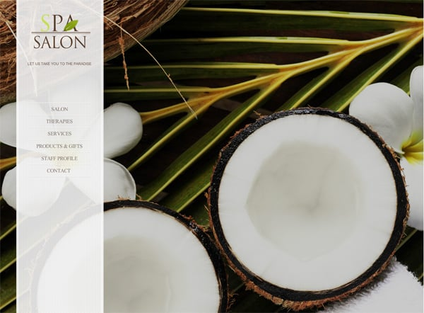 Relaxation SPA Salon Website Template