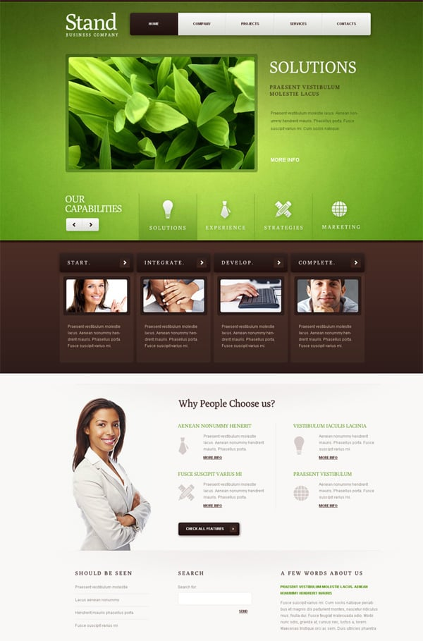 Style Business Flash Template