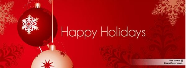 Happy Holidays Facebook Cover