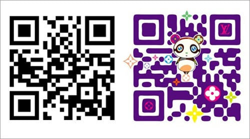 QR code designs from 2012