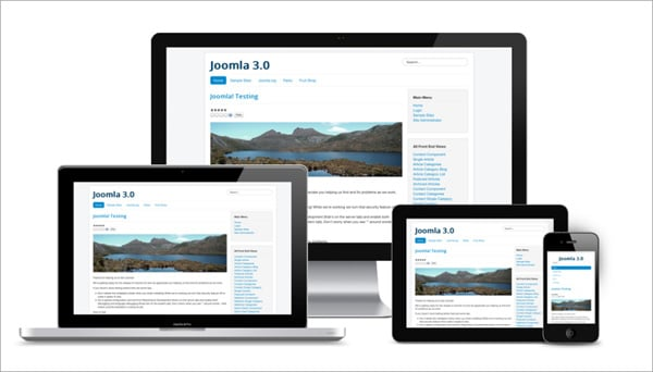 Joomla websites development