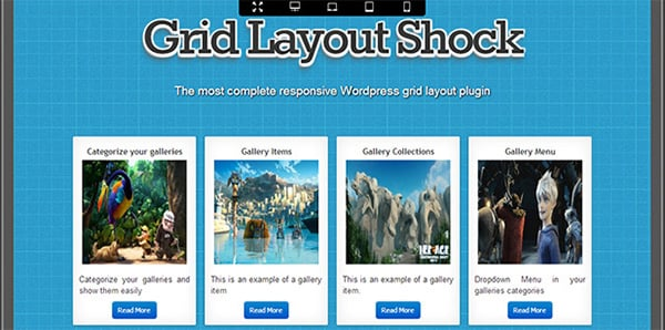 Responsive WordPress Grid Layout