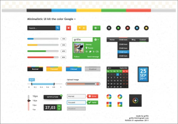 31 free web ui kits choose your best interface design tool