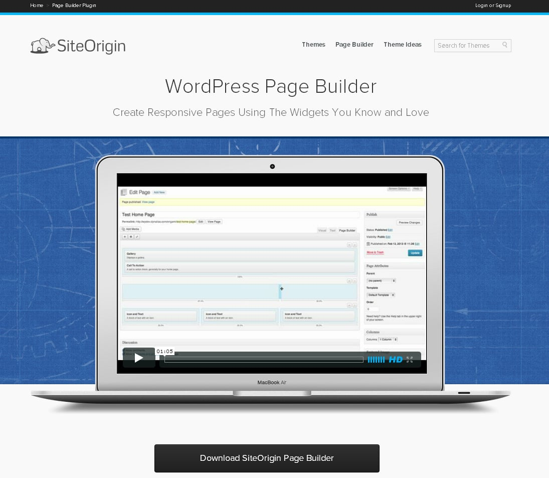 Responsive layout builder plugins for WordPress