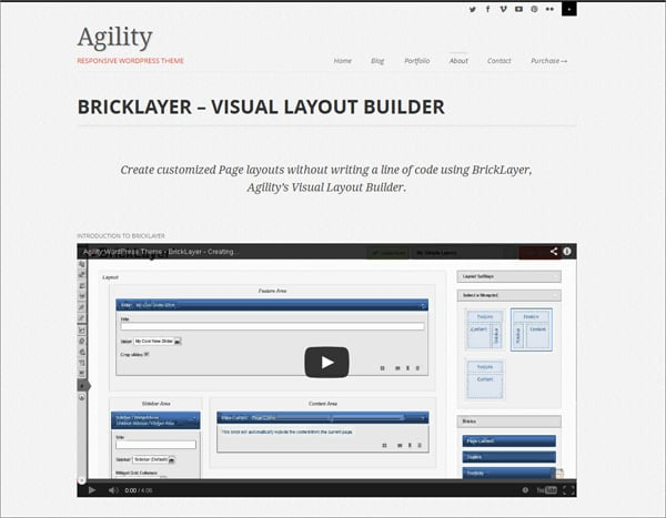 Responsive layout builder for WordPress