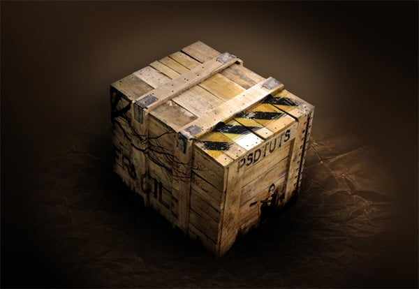 Create an Impressive Mock-up of a Grungy Box