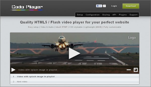 HTML5 Video Players
