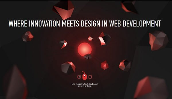 Websites with Parallax Scrolling Effect