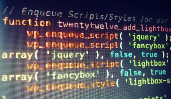 Enqueue Your Scripts & Styles
