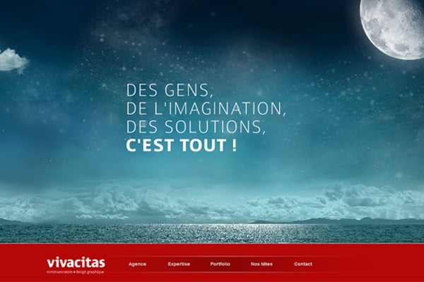 25 Inspirational Blue Web Designs