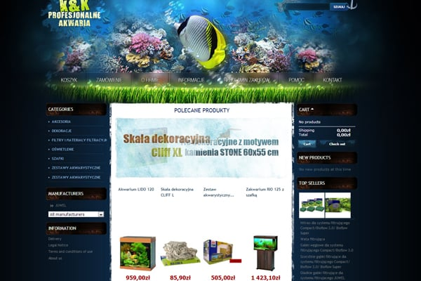 25 Inspirational Blue Websites