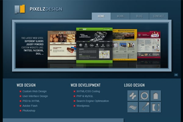 25 Inspirational Website Designs