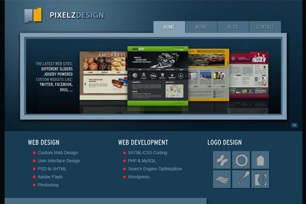 25 Inspirational Website Designs