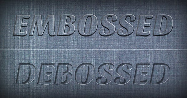 35 Fresh Photoshop Text Effect Tutorials 2013 - emboss
