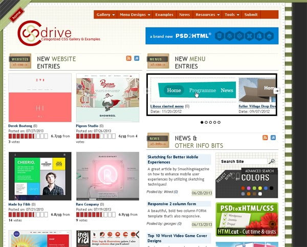 Websites and Directories to Submit Web Design Posts, Articles and News
