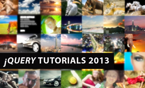 New jQuery Tutorials 2013