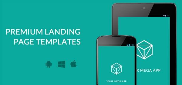 Premium landing page designs