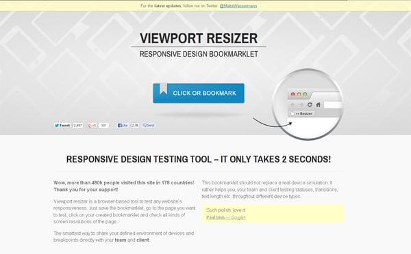 Responsive Design Testing Tools To Check Screen Resolutions