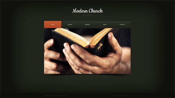How to build a church website from a template how to build a church website from a religious website template maxwellsz