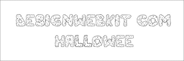 New Halloween Fonts of 2013