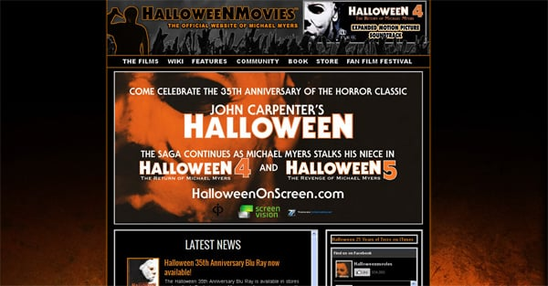 Halloween Website Design Ideas To Give Your Readers a Shock
