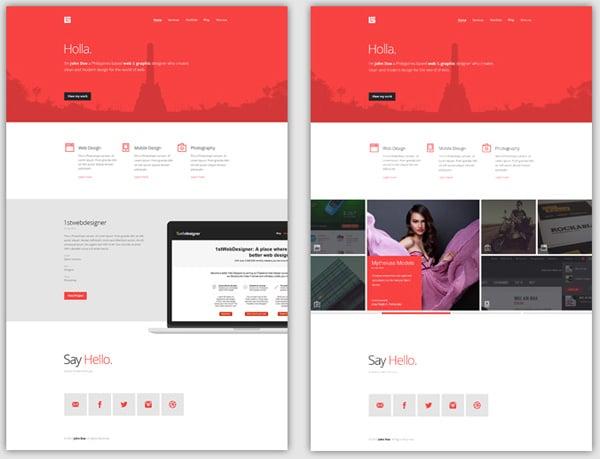 Flat Web Design Tutorials