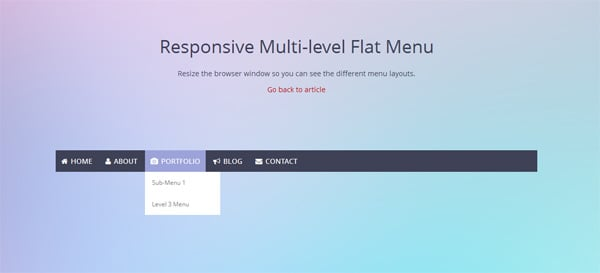 Flat Web Design Tutorials