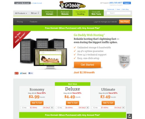 How to Create Website - GoDaddy Hosting
