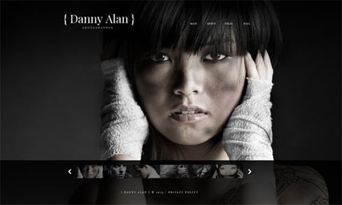 How to Create Website with Photographer HTML Template