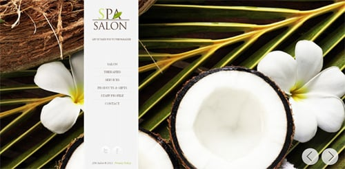 How to Create Website  with SPA Salon HTML Template